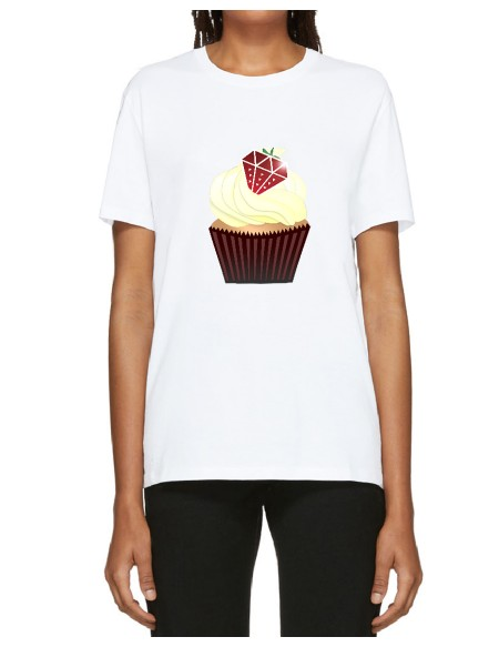 T-SHIRT CUPCAKE DIAMOND