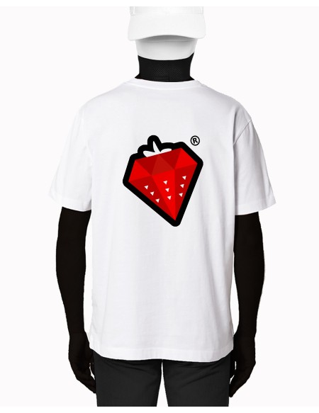 "T-SHIRT ""DIAMOND STRAWBERRY"""