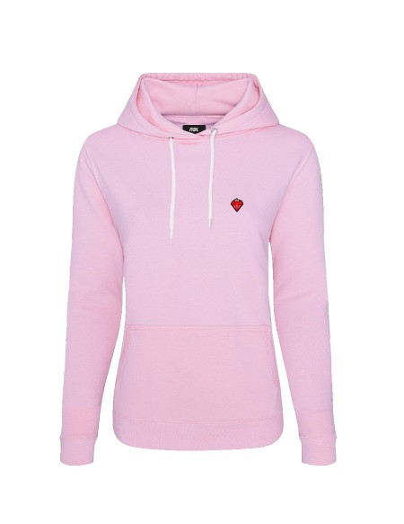 HOODY « DIAMOND STRAWBERRY »