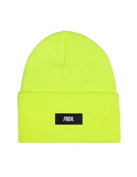 Bonnet FRDV jaune fluo