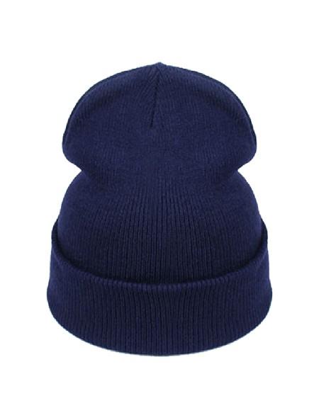 Bonnet bleu marine
