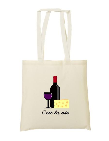 Tote bag C'est la vie