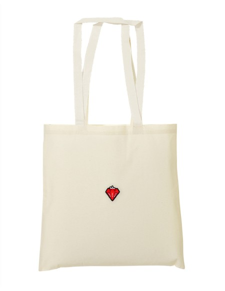"Tote bag ""Diamond strawberry"""