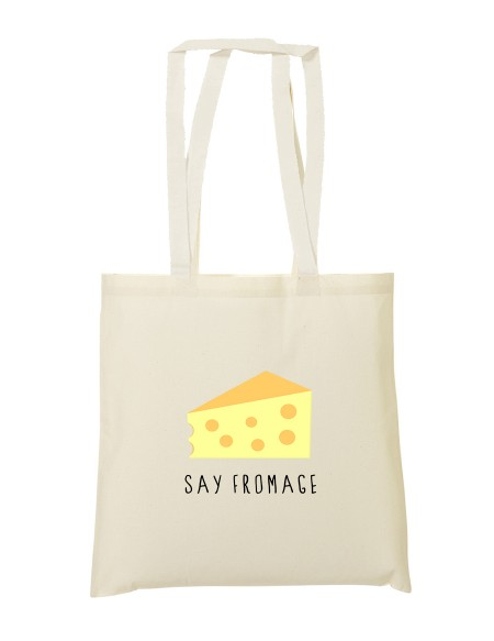 Tote bag Say fromage